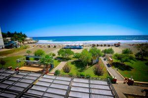 Liparis mavi bayraklı sahil